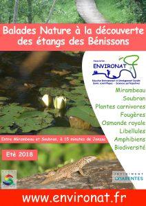 Balade Nature à la découverte des étangs des Bénissons @ étangs des Benissons
