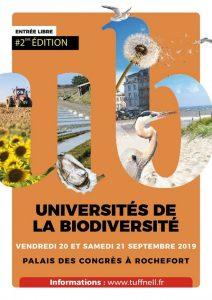 Université de la Biodiversité à Rochefort @ palais des congrès de Rochefort | Rochefort | Nouvelle-Aquitaine | France