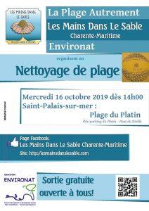 Nettoyage participatif de plage - Le Platin - Saint Palais sur mer @ pont du Diable | Saint-Palais-sur-Mer | France