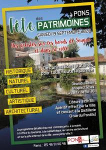La Fête des Patrimoines à Pons #1 Les petites bêtes du bord de Seugne @ Maison des Pêcheurs de Pons | Pons | Nouvelle-Aquitaine | France