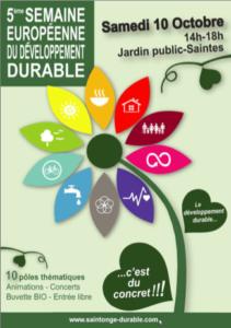 Village du Développement Durable Saintonge Durable @ Jardin public - Saintes | Saintes | Nouvelle-Aquitaine | France